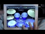 Как правильно играть на барабанах АйПад | Играем на Drums IPAD | Tapping ROCK